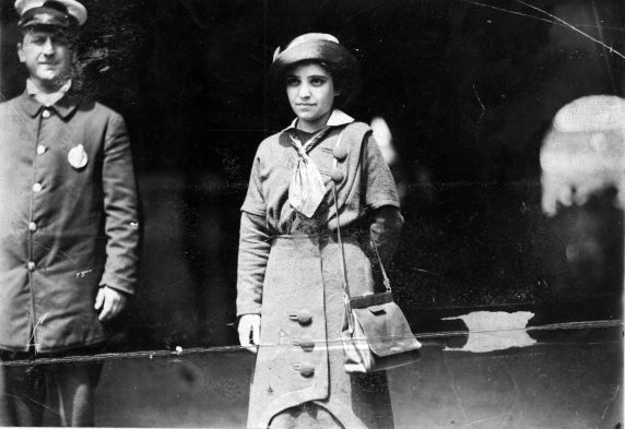 (5213) Matilda (Rabinowitz) Robbins, Arrest, 1910s